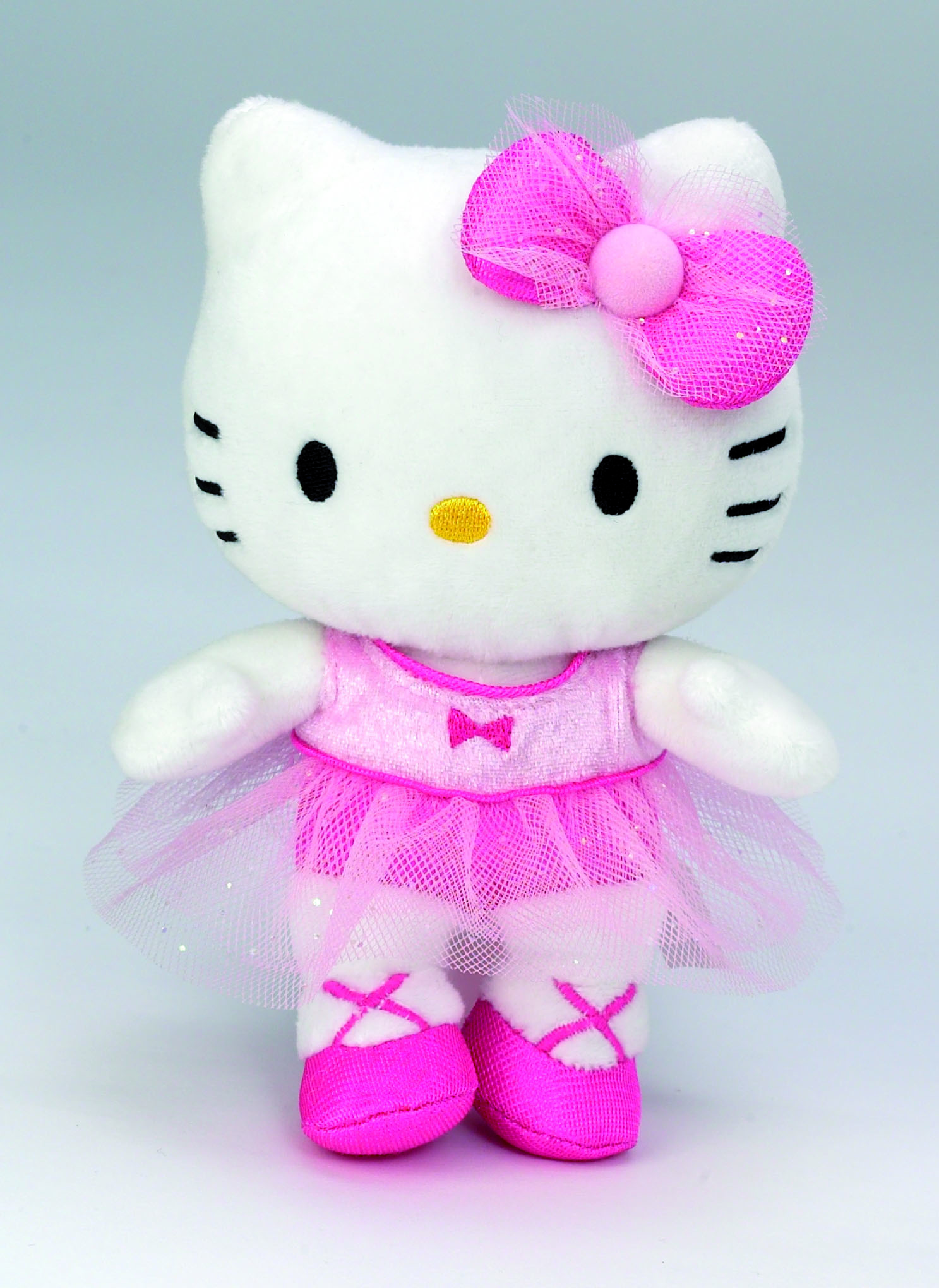 Мягкая игрушка Hello Kitty  балерина 15 см в дисплее (AT-021830)
