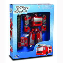 Робот-трансформер - ПОЖАРНАЯ МАШИНА 80040R X-bot (80040R)