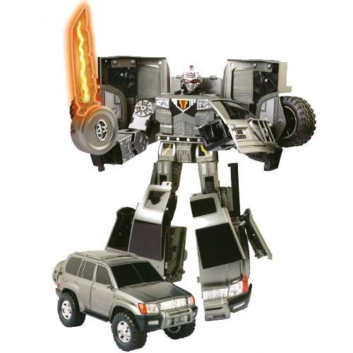 Робот-трансформер - TOYOTA LAND CRUISER (1:18) 50060 r Roadbot (50060 r)