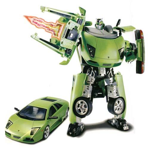 Робот-трансформер - LAMBORGHINI MURCIELAGO (1:18) 50140 r Roadbot (50140 r)