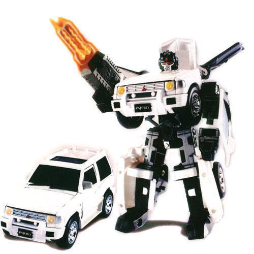 Робот-трансформер - MITSUBISHI PAJERO (1:32) 52020 r Roadbot (52020 r)