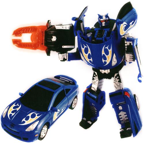 Робот-трансформер - TOYOTA CELICA (1:32) 52040 r Roadbot (52040 r)