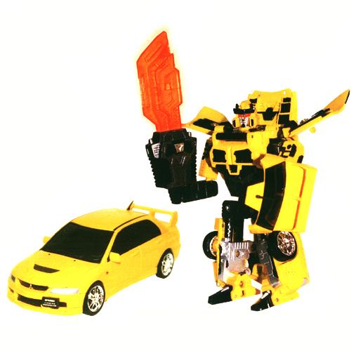 Робот-трансформер - MITSUBISHI LANCER EVOLUTION IX (1:32) 52080 r Roadbot (52080 r)