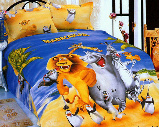 Купить:   Комплект постельного белья Мадагаскар, детский (212051-1)