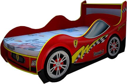 Купить:   Кровать-машинка Sport-KM-380 (без матраца) (Sport-KM-380-1)