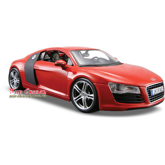 Автомодель (1:24) 2008 Audi R8 31281 red MAISTO (AKT-31281 red)