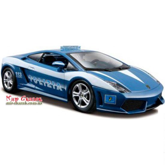 Автомодель (1:24) Lamborghini Gallardo LP560 4 Polizia 31299 blue MAISTO (AKT-31299 blue)