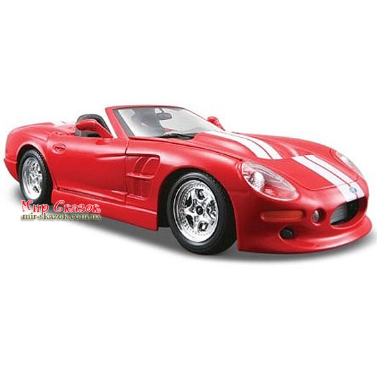 Автомодель (1:24) 1999 Shelby Series 1 31277 red MAISTO (AKT-31277 red)