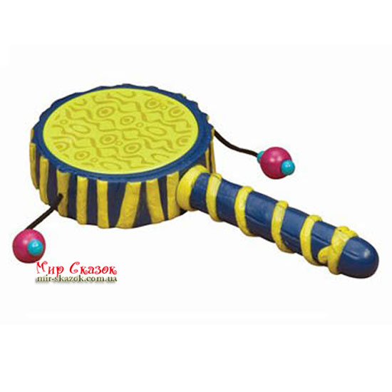 Музыкальная игрушка серии ДЖУНГЛИ - РУЧНОЙ БАРАБАН BX1257GTZ Battat (BX1257GTZ)