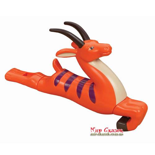 Музыкальная игрушка серии ДЖУНГЛИ - свисток-слайдер АНТИЛОПА BX1256GTZ Battat (BX1256GTZ)