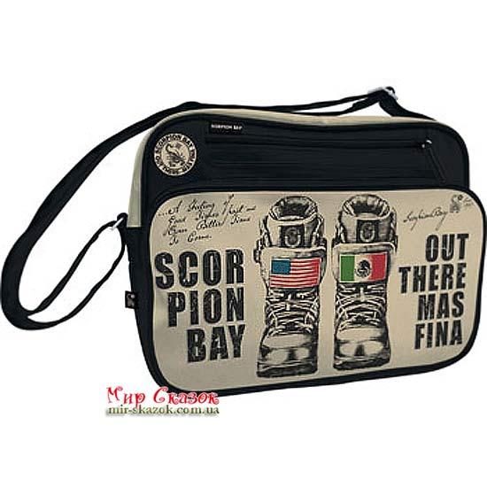 Сумка с карманом на молнии Scorpion Bay SBAB-RT1-8025 Kinderline (SBAB-RT1-8025)