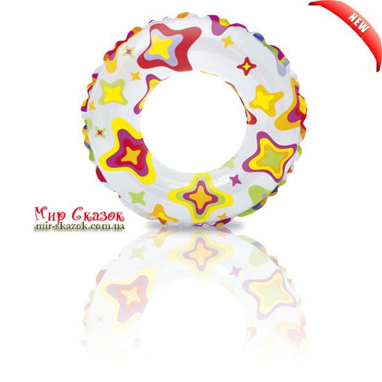Надувной круг Intex Цветной 59241 (ut-40479)