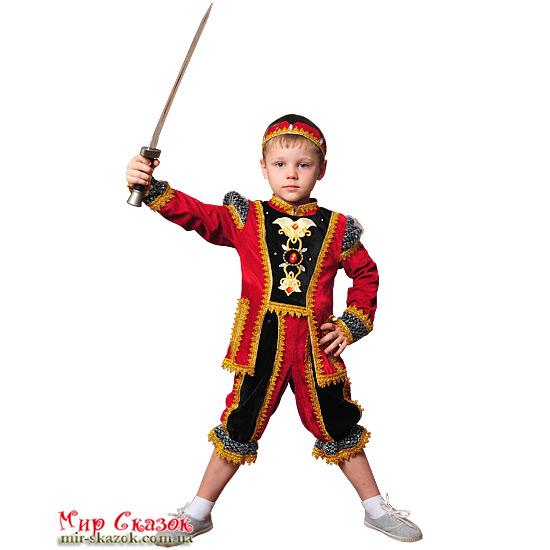 Костюм Принц красный 716/28 Витус (ВП-716/28)
