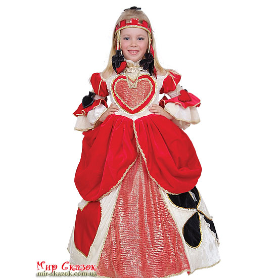 Костюм Королева карт 297/30 Витус (ВП-297/30)