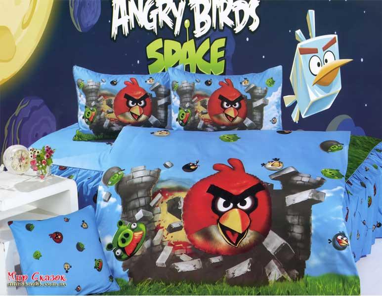 Купить:   Комплект постельного белья La Scala KI-063 Angry Birds (KI-063)