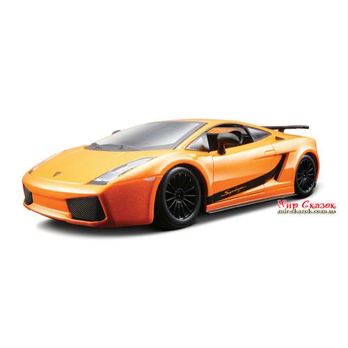 Авто-конструктор - LAMBORGHINI GALLARDO SUPERLEGERRA 2007 (оранжевый металлик, 1:24) 18-25089 Bburago (18-25089)