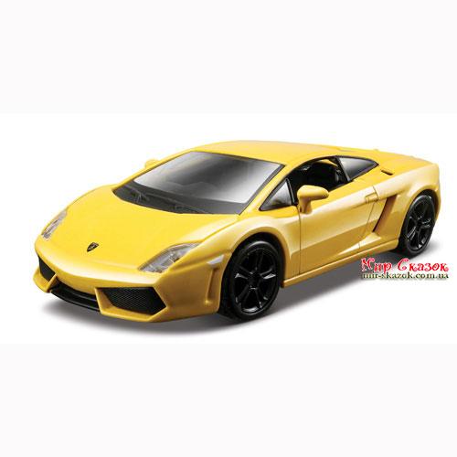 Авто-конструктор - LAMBORGHINI GALLARDO LP560-4 (2008) (красный, желтый металлик, 1:32) 18-45128 Bburago (18-45128)