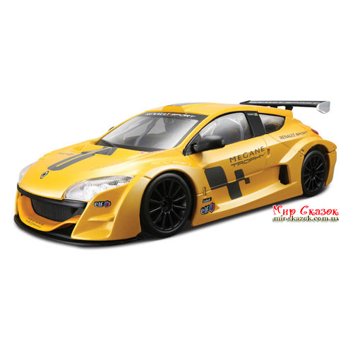 Авто-конструктор - RENAULT MEGANE TROPHY (желтый металлик, 1:24) (18-25097)