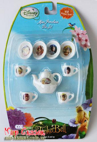 """Чайный мининабор """"Принцесса"""", 10 ед, блистер (61681)"""