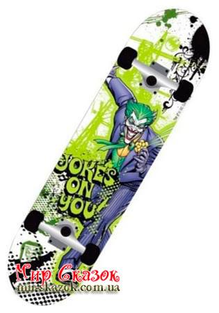 """Скейт BATMAN ™ """"The Joker"""" , дека 31""""х 7.75"""", підшипник ABEC 5 (AKT-970083)"""