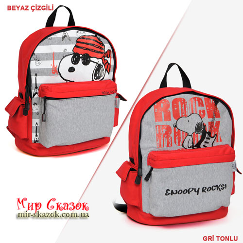 Школьный рюкзак Snoopy Rock`s (32502)