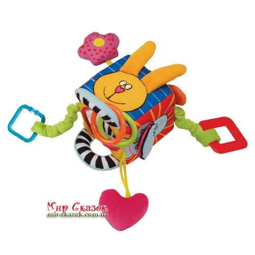 Развивающая игрушка-кубик - ЗАБАВНЫЕ ЗВЕРУШКИ (10765)
