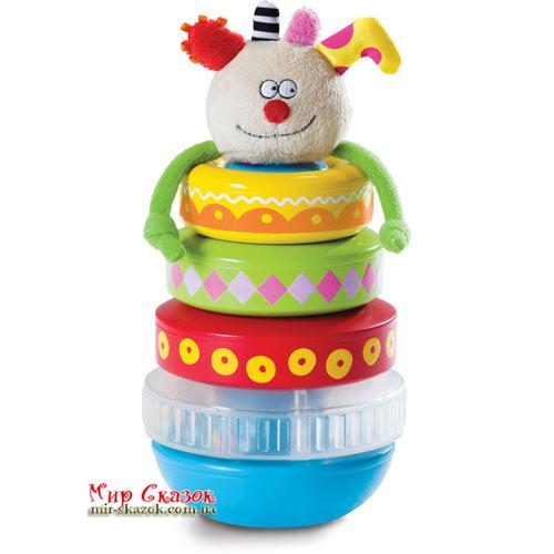 Развивающая игрушка - ПИРАМИДКА КУКИ (11365)