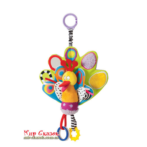Развивающая игрушка-подвеска - ПАВЛИН 11455 Taf Toys (11455)