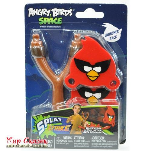 Набор ANGRY BIRDS - РОГАТКА С ЛИПКИМИ ПТИЧКАМИ (2 птички) (23422)