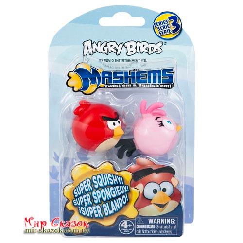 Набор ANGRY BIRDS S3 - МAШЕМСЫ (2 птички: красная, розовая) (50281-S3RP)