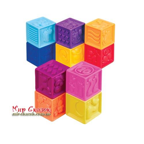 Развивающие силиконовые кубики - ПОСЧИТАЙ - КА (BX1002Z)