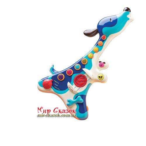 Музыкальная игрушка – ПЕС - ГИТАРИСТ (BX1166)
