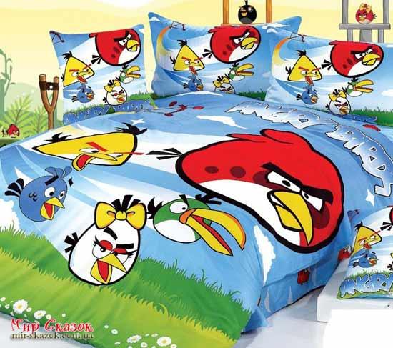 Комплект постельного белья Angry birds CH-007 (m006134)