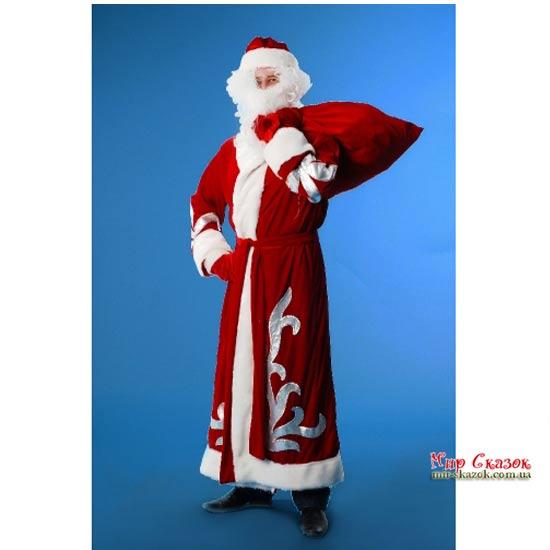 Костюм Деда Мороза (велюр) KD92 (KD92)